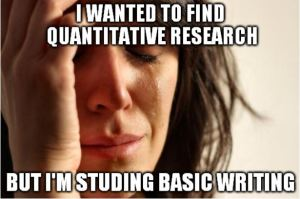 Basic Writing research meme